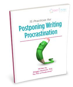 Postponing Writing Procrastination - Perspective